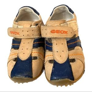 Geox Infants Leather Fisherman Sandals Size 5.5